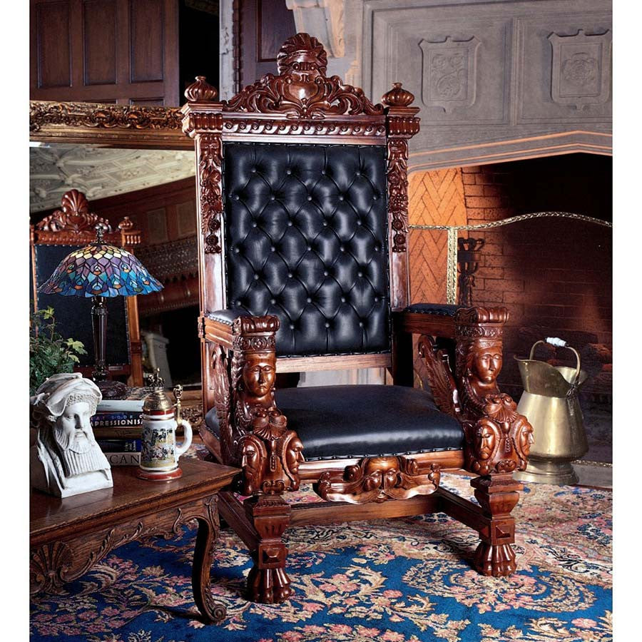 Fitzjames Throne Chair