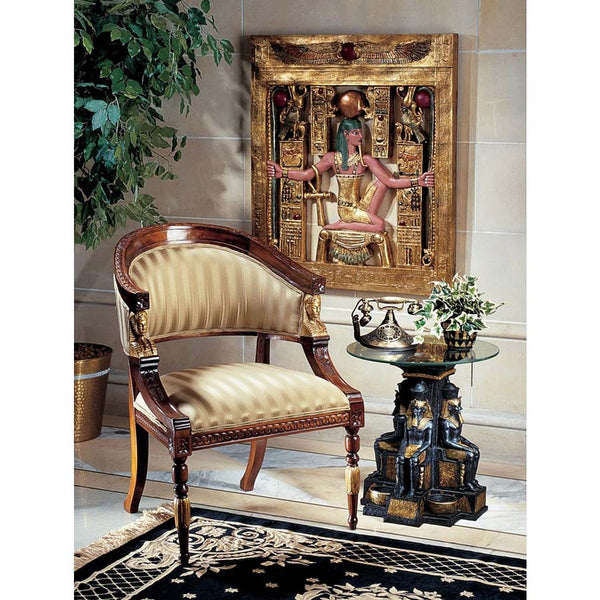 EGYPTIAN REVIVAL CHAIR                      OS3-