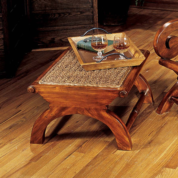 BRITISH PLANTATION FOOTSTOOL