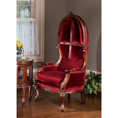 VICTORIAN PARLOR BALLOON CHAIR