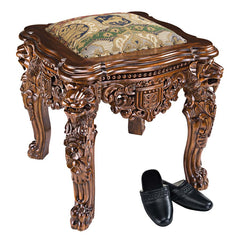 LORD RAFFLES LION LEG STOOL