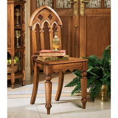 S/2 ABBEY GOTHIC REVIVAL CHAIRS