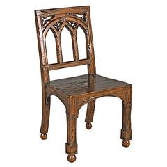 S/2 GOTHIC REVIVAL RECTORY CHAIRS