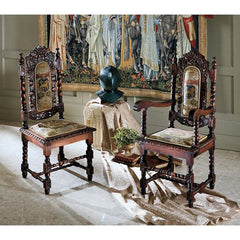 S/6 CHARLES II CHAIRS