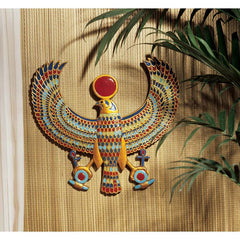 Ancient Egyptian Horus Wall Sculpture Decor