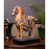 "13"" Museum Replica Chinese Tang Horse Sculpture Statue"