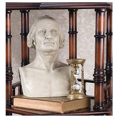 "12"" American President George Washington Bust Sculpture Statue"