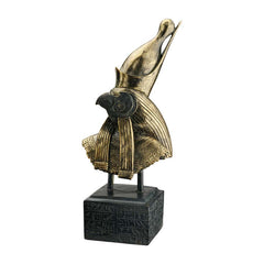 "18"" Ancient Egyptian Art Statue Jackal God Horus Sculpture"