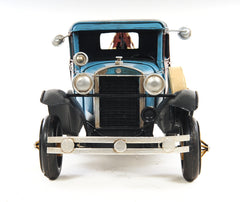 XoticBrands Decor 1931 Ford Model A Tow Truck 1:12 Iron Vintage Model