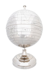 XoticBrands Decor Alum Globe 13 Inches
