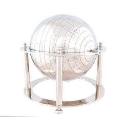 XoticBrands Decor Aluminium Globe