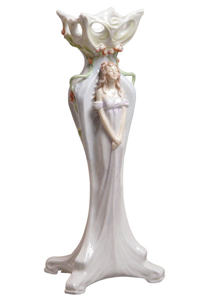 Woman & Peony Tall Vase - Home Accent.