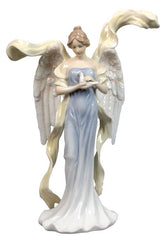 Angel With Winged Dove (Blue Dress) - Angels