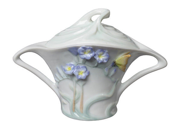 Freesia Sugar Jar (Purple Flower) - Home Accent.