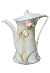 Freesia Coffee Pot (Pink Flower) - Freesia