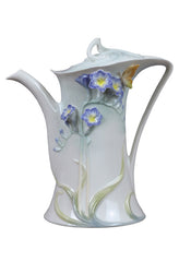Freesia Coffee Pot (Purple Flower) - Home Accent.