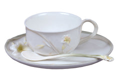 Lily Coffee Cup Set With Spoon - Lily