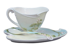Gingko Coffee Cup Set With Spoon - Ginkgo
