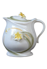 Lily Creamer With Lid - Home Accent.