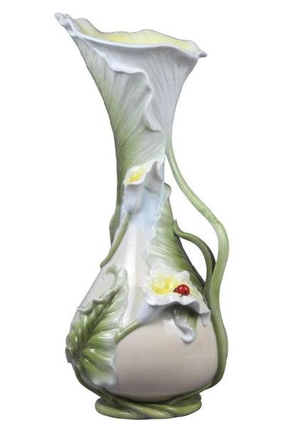 Call Lily & Lady Bug Vase(Large) - Home Accent.