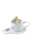 Bathing Beauty Coffee Cup Set With Spoon - Home Accent.