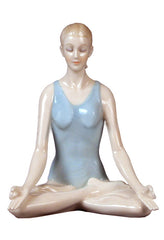 Lotus Pose (Padmasana) - Yoga, Performance Art.