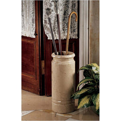 "20"" Classic Collectors Natural Stone Solid Marble Cane and Umbrella Hol..."