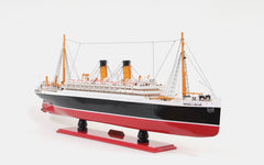 XoticBrands Decor Empress of Ireland Boat  Model Display