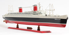 XoticBrands Decor SS United States Boat  Model Display