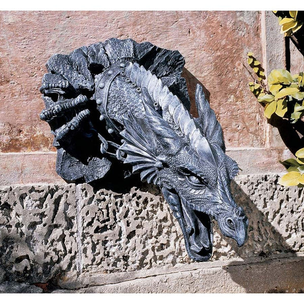 Spiky the Fire Spitting Dragon Architectural Home and Garden Wall Decor (Xoticbrands)