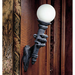 "25"" Dragon Talon Sculpture Wall Lamp"
