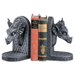Decorative Castle Dragon Bookends