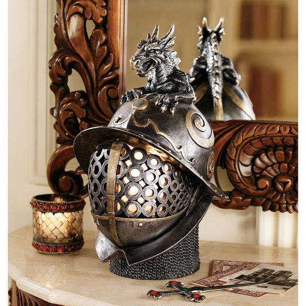 DRAGON WARRIOR HELMET LAMP