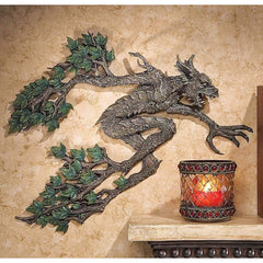 "14"" Wall Treebeard Spirit of the Woods Wall Sculpture Statue Figurine"