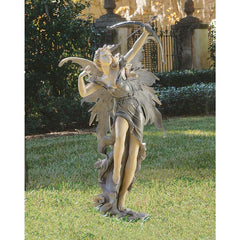 Classic Archer Pixie Fairy Home Garden Statue Sculpture Figurine