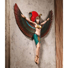 "14.5"" Goddess Isis Wall Sculpture"