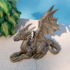"15"" Cute Dragon Statue Sculpture (Xoticbrands)"