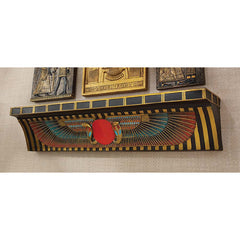 Classic Egyptian Collectible Ur-uatchi Ceremonial Offering Manor Shelf