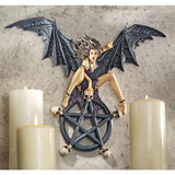 "13"" Temptress Traci Pentagram Wall Sculpture"