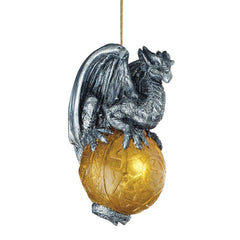 "4"" Gothic Dragon Ornament"