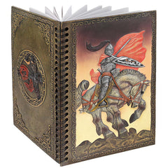 "8"" The Knight's Battle Dairy Hardcover Journal Notebook"