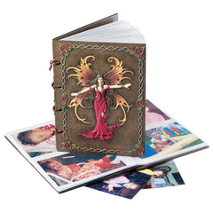 "8"" Fairy's Sacred Wisdom Hardcover Photo Album"