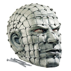 Nailed Grid Head Statue