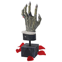 Creepy Hand of Dracula Statue