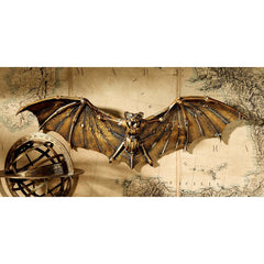 Decorative Cyber Bat Steampunk Wall Sculpture