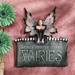 Decorative Fairies Wall Plaque