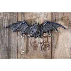 Vampire Bat Key Holder Wall Sculpture Statue