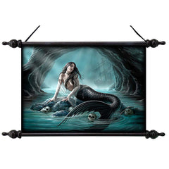 Sirens Lament Wall Scroll Tapestry