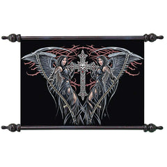 Angels of Death Canvas Scroll Tapestry