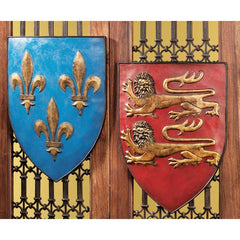 "17"" Antique Replica Classic Grand Arms Wall Shield Collection Military Gift S..."